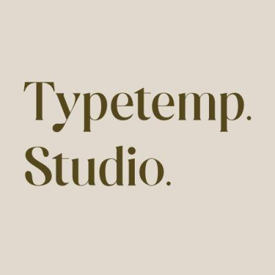 Typetemp Studio